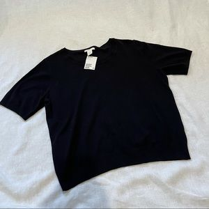 H&M Short Sleeve Sweater